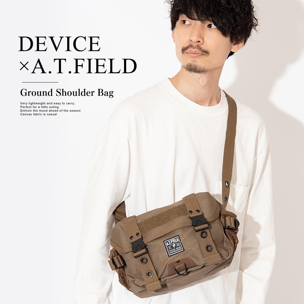 DEVICE ×A.T.FIELD グラウンドショルダーバッグ