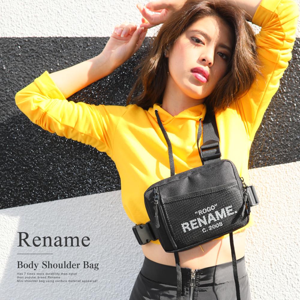 Rename CORDURA 3ベルト ボディショルダーバッグ