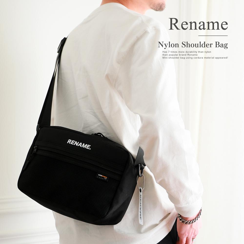 Rename CORDURAナイロンショルダーバッグ 【RSN80028】