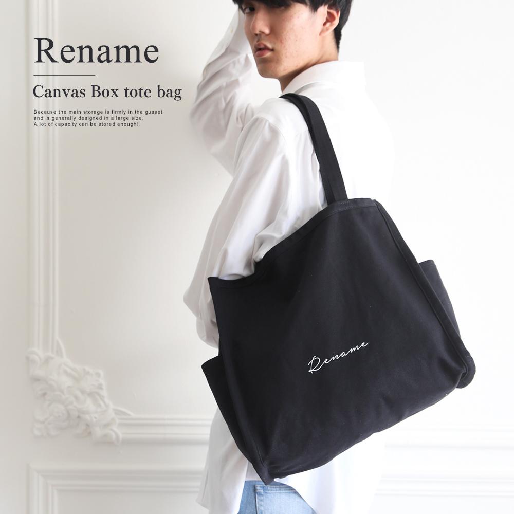 Rename 帆布 トートバッグ